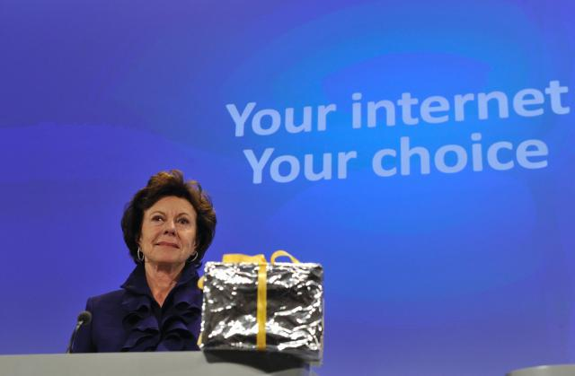 Press conference by Neelie Kroes, Member of the EC, on web browser choice