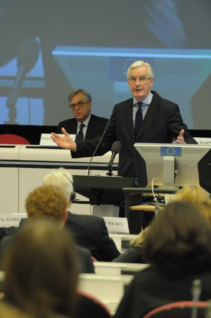 Participation of Michel Barnier, Member of the EC, at the high level conference on Building a Crisis Management Framework for the Internal Market