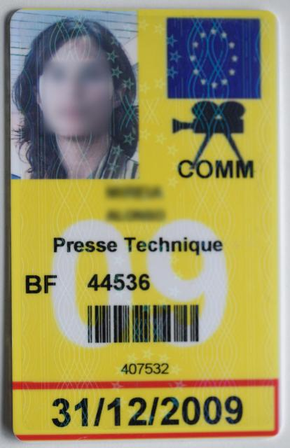 Press cards and informations to the press (IP)
