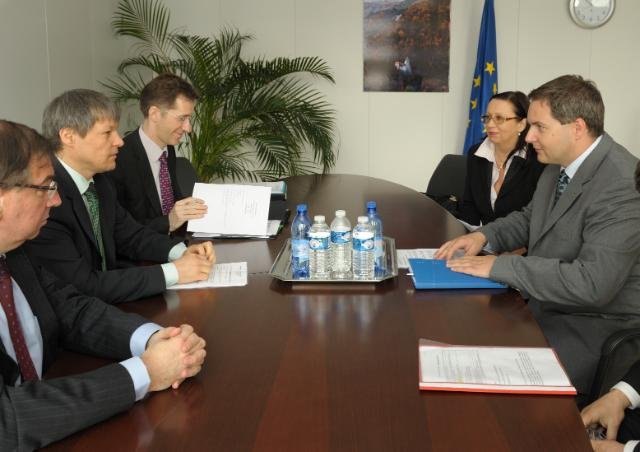 Visit of Dejan Židan, Slovenian Minister for Agriculture, Forestry and Food, to the EC