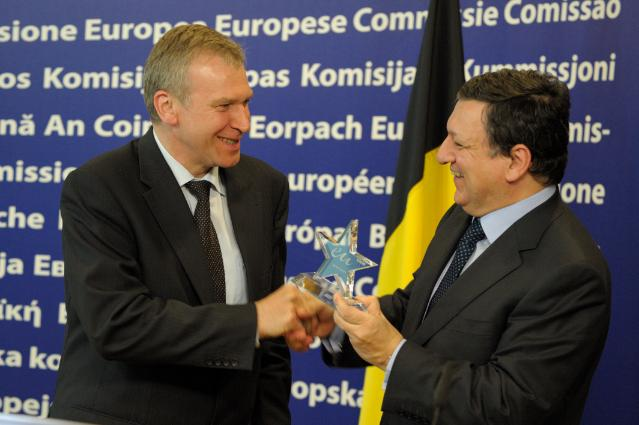 Visit of Yves Leterme, acting Belgian Prime Minister, to the EC