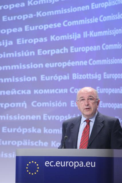 Press conference by Joaquín Almunia, Vice-President of the EC, on the revised competition rules for motor vehicle distribution and repair
