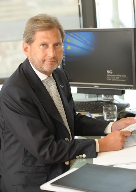 Johannes Hahn, Member of the EC