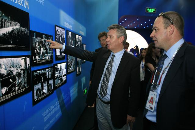 Participation of Karel De Gucht, Member of the EC, to the Trade Days at the Shanghai World Expo 2010