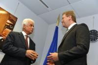 Visit of Derviş Eroğlu, Leader of the Turkish Cypriot Community, to the EC