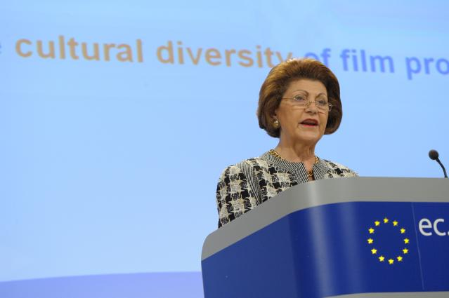 Press conference by Androulla Vassiliou, Member of the EC, on Opportunities and Challenge for European Cinemas in the Digital Era