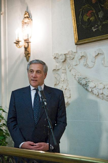 Participation of Antonio Tajani, Vice-President of the EC, at the action