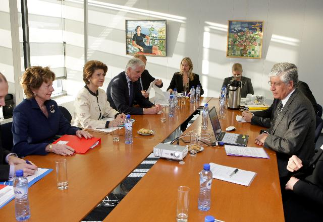 Visit of a delegation from the Comité des Sages to the EC