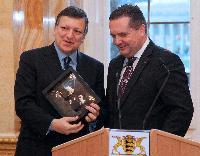 Visit of José Manuel Barroso, President of the EC, to Baden-Wüttemberg