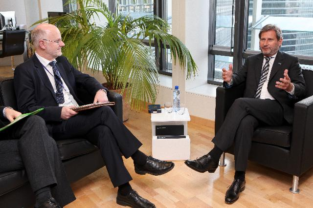 Visit of Staffan Nilsson, President of the EESC, to the EC