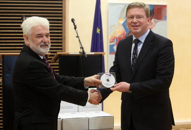 Visit of Mirko Cvetković, Serbian Prime Minister, to the EC