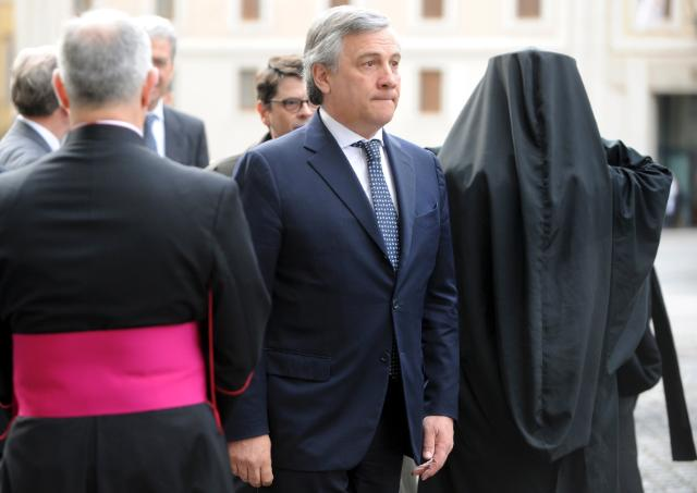 Participation of José Manuel Barroso, President of the EC, and Antonio Tajani, Vice-President of the EC, in the beatification ceremony of Pope John Paul II
