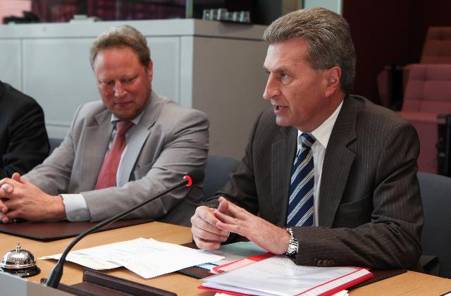 Réunion sur la sécurité nucléaire entre les représentants d'ONG et la CE