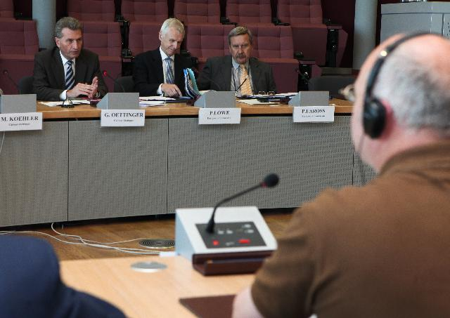 Meeting on nuclear security between the officials of NGOs and the EC