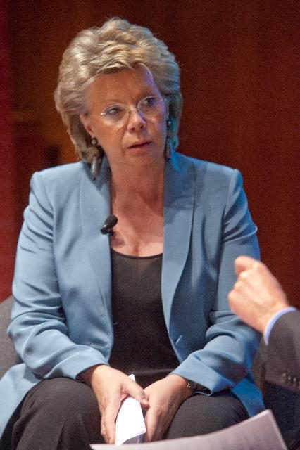 Participation of Viviane Reding, Vice-President of the EC, in the European Policy Centre annual conference high-level debate on