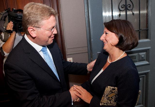 Meeting between Atifete Jahjaga, President of Kosovo, and Štefan Füle, Member of the EC