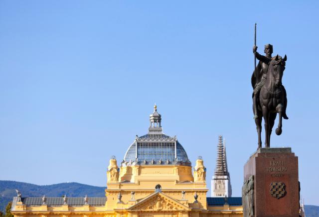 Zagreb, capital of Croatia