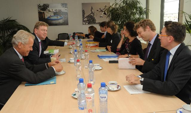 Visit of the representatives of Amnesty International to the EC