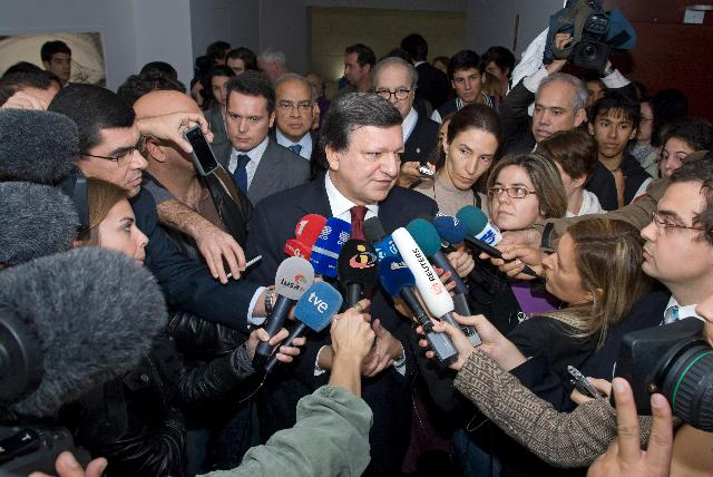 Participation of José Manuel Barroso, President of the EC, in the Jean Monnet Conference
