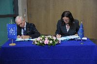Signature of a Framework Agreement between the EC and the IOM, to strengthen their cooperation in the area of migration and mobility