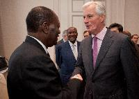 Meeting with Alassane Ouattara, President of Côte d'Ivoire