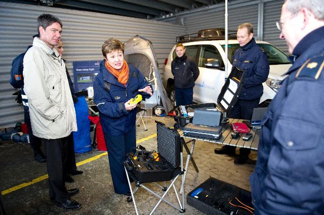 Visite de Kristalina Georgieva, membre de la CE, au Danemark