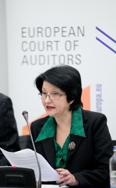 Press conference by Nadejda Sandolova, Member of the European Court of Auditors, on the special report of the Court entitled: