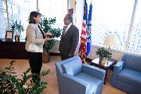 Visit of Máire Geoghegan-Quinn, Member of the EC, to United States