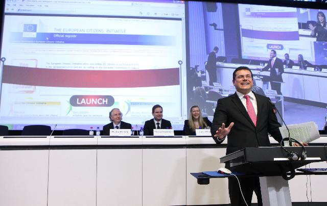 Participation of Maroš Šefčovič, Vice-President of the EC, at the conference