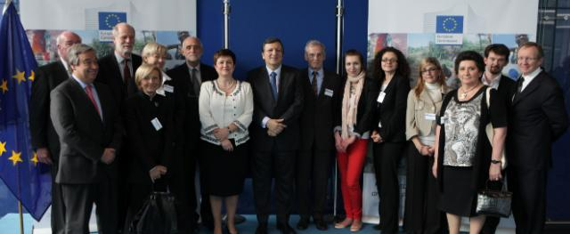 Participation of José Manuel Barroso, President of the EC, and Kristalina Geogieva, Member of the EC, in the launch of the 20th anniversary of ECHO ECHO@20