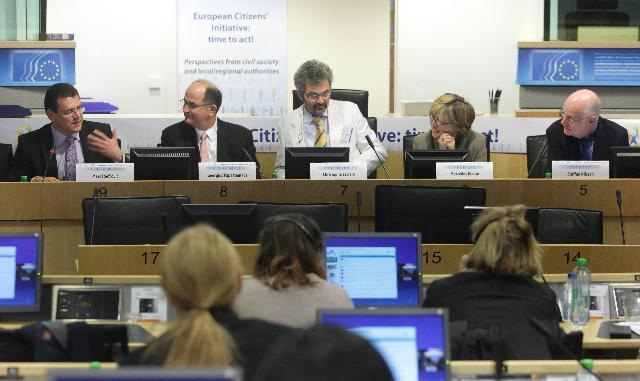 Participation de Maroš Šefčovič, vice-président de la CE, à la conférence L'initiative citoyenne européenne: il est temps d'agir!