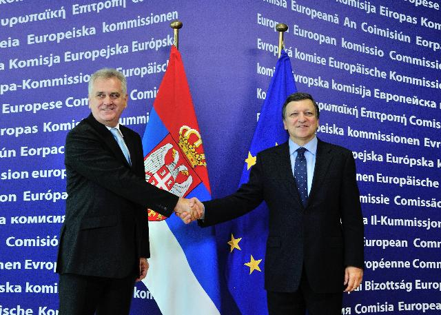 Visit of Tomislav Nikolić, President of Serbia, to the EC