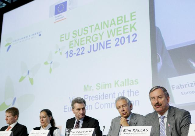 EU Sustainable Energy Week 2012 and 2012 EU Sustainable Energy Europe Awards ceremony