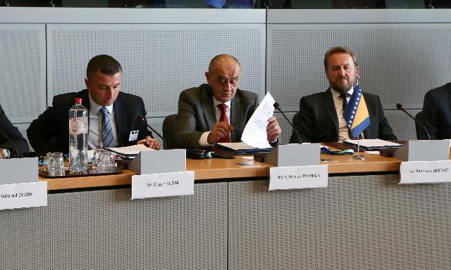 High Level Dialogue on the Accession Process with political leaders from Bosnia and Herzegovina
