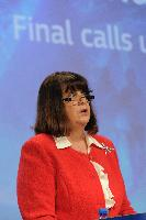 Press conference by Máire Geoghegan-Quinn, Member of the EC, on the call for proposals under the EU's Seventh Framework Programme for Research, and presentation of a