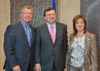 Visit of Hans-Joachim Reck, President of the CEEP, and Valeria Ronzitti, Secretary General of the CEEP, to the EC