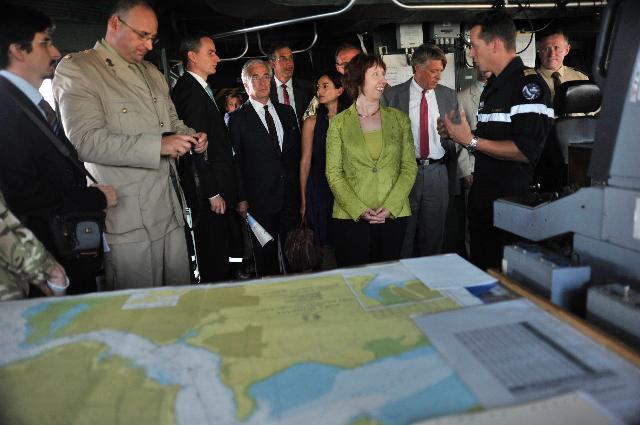 Visit of Catherine Ashton, Vice-President of the EC, to Kenya