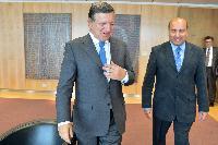 Visite de Suma Chakrabarti, président de la Banque européenne pour la reconstruction et le développement, à la CE