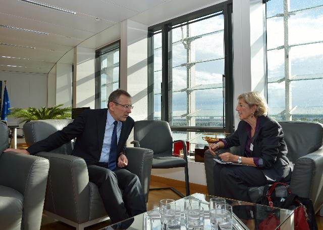 Visit of Julia Marton-Lefèvre, Director-General of the IUCN, to the EC