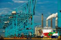 ECT - Europe Container Terminals in Rotterdam