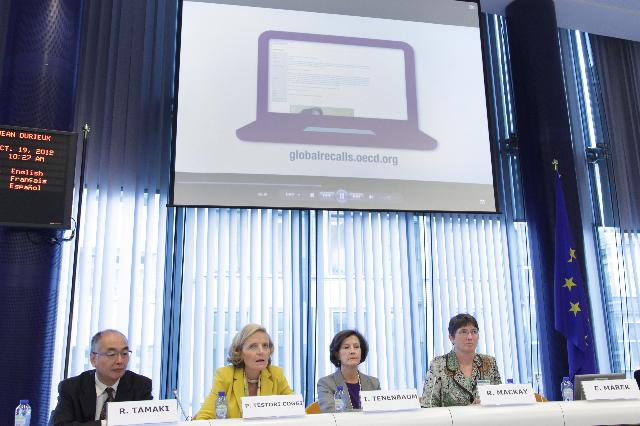 Launch of the Global Portal on Product Recalls