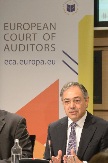 Press conference by Vítor Manuel da Silva Caldeira, President of the European Court of Auditors, on the ECA's annual report on the implementation of the 2011 EU Budget