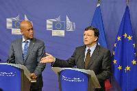 Visit of Michel Martelly, President of Haiti, to the EC