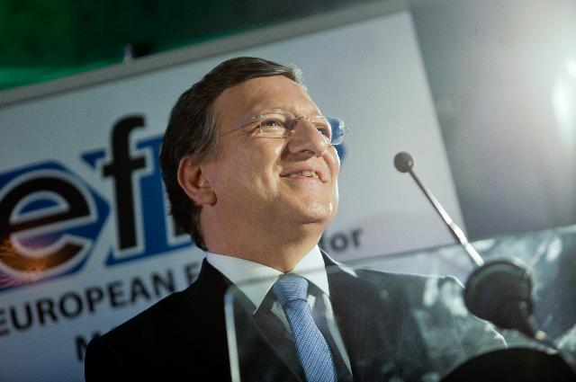 Participation de José Manuel Barroso, président de la CE, à la table ronde du European Forum for Manufacturing