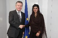 Visit of Hina Rabbani Khar, Pakistani Minister for Foreign Affairs, to the EC