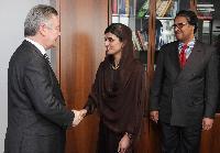 Visit of Hina Rabbani Khar, Pakistani Minister for Foreign Affairs, to the EC
