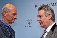 Visite de Karel De Gucht, membre de la CE, à l'OMC