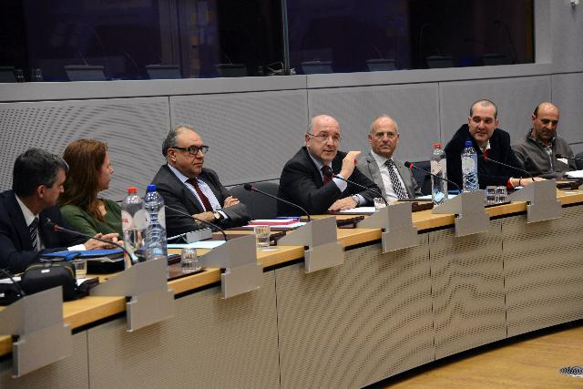 Visit of a group of Catalan mayors to the EC
