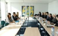 Visite à la CE d'une délégation de la commission des Affaires européennes du Seimas lituanien