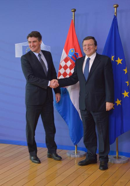 Visit of Zoran Milanović, Croatian Prime Minister, to the EC
